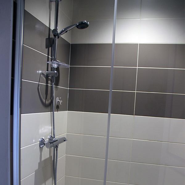 Douche à l'italienne à Avranches